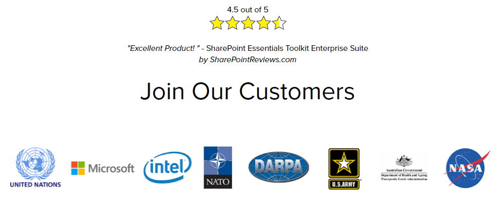 Join our Customers