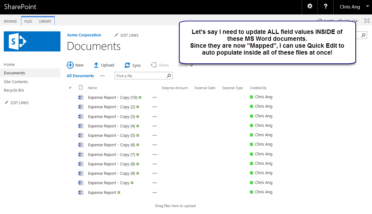 Qipoint blog 2018 leveraging templates to create for Office 365 design document