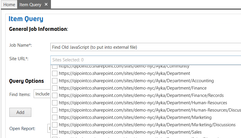 Item Query finding specific text in SharePoint