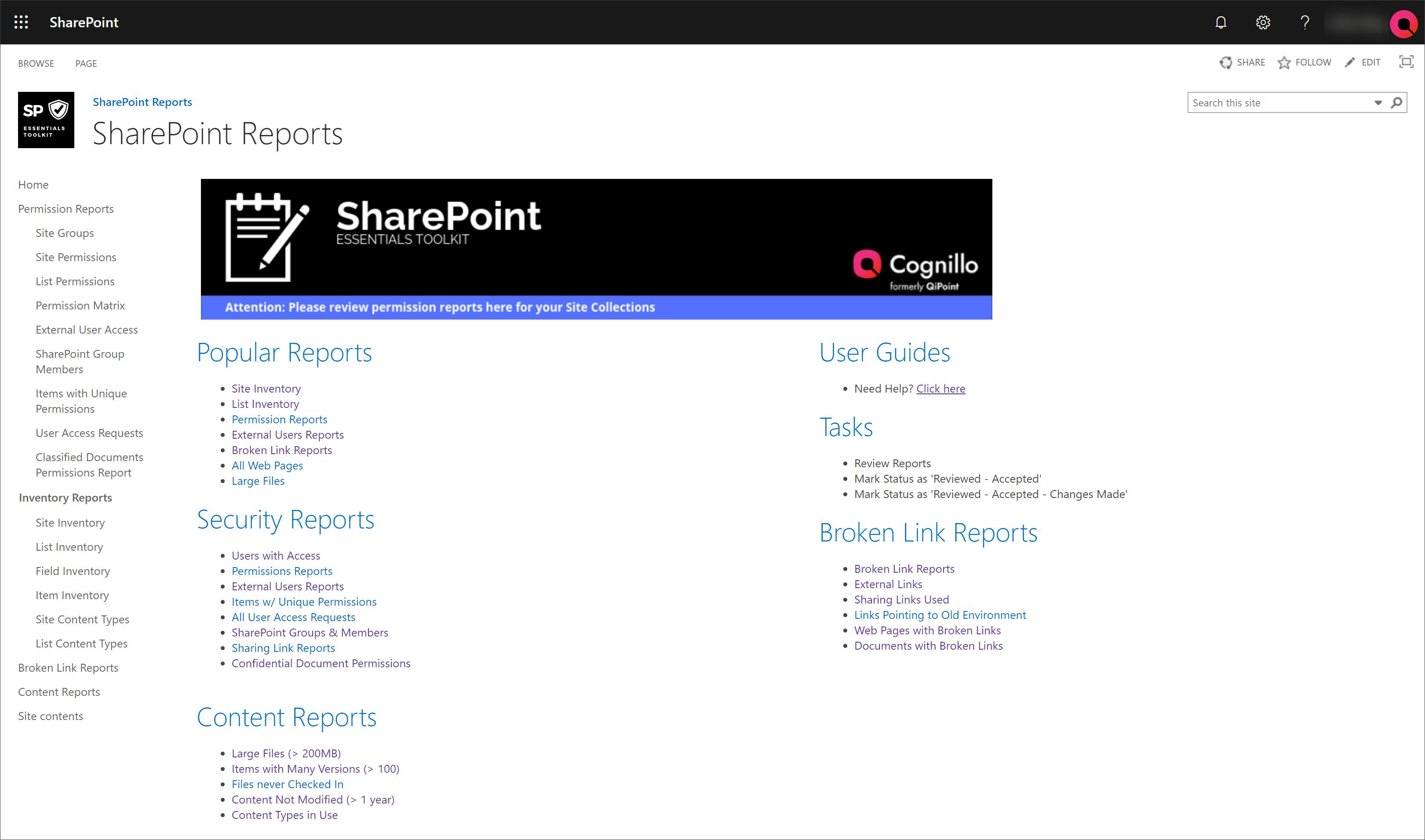 SharePoint Essentials Toolkit | SharePoint Online